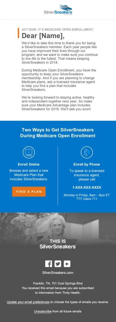 SilverSneakers – Megan Lake